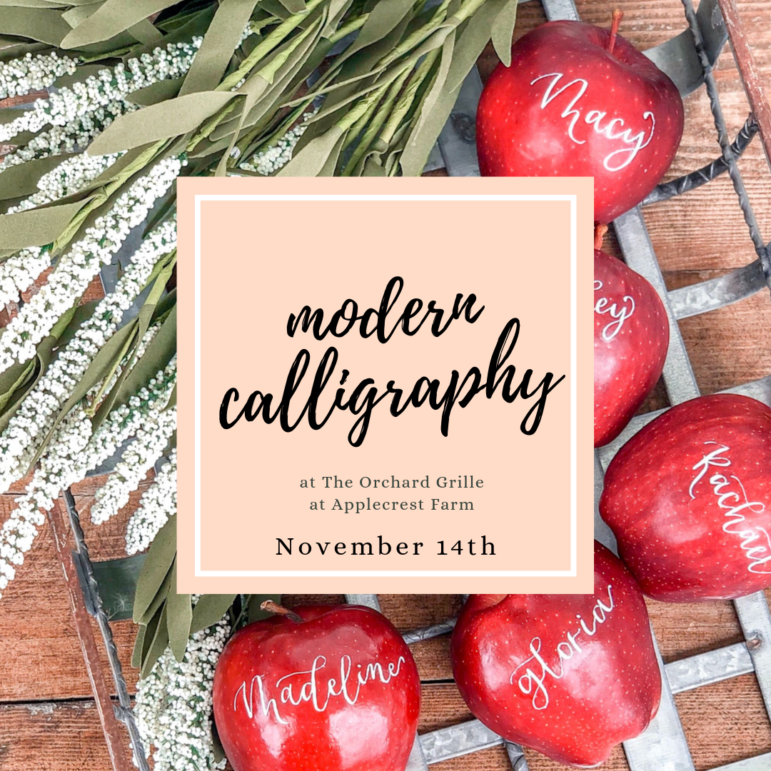 calligraphy workshop in NH