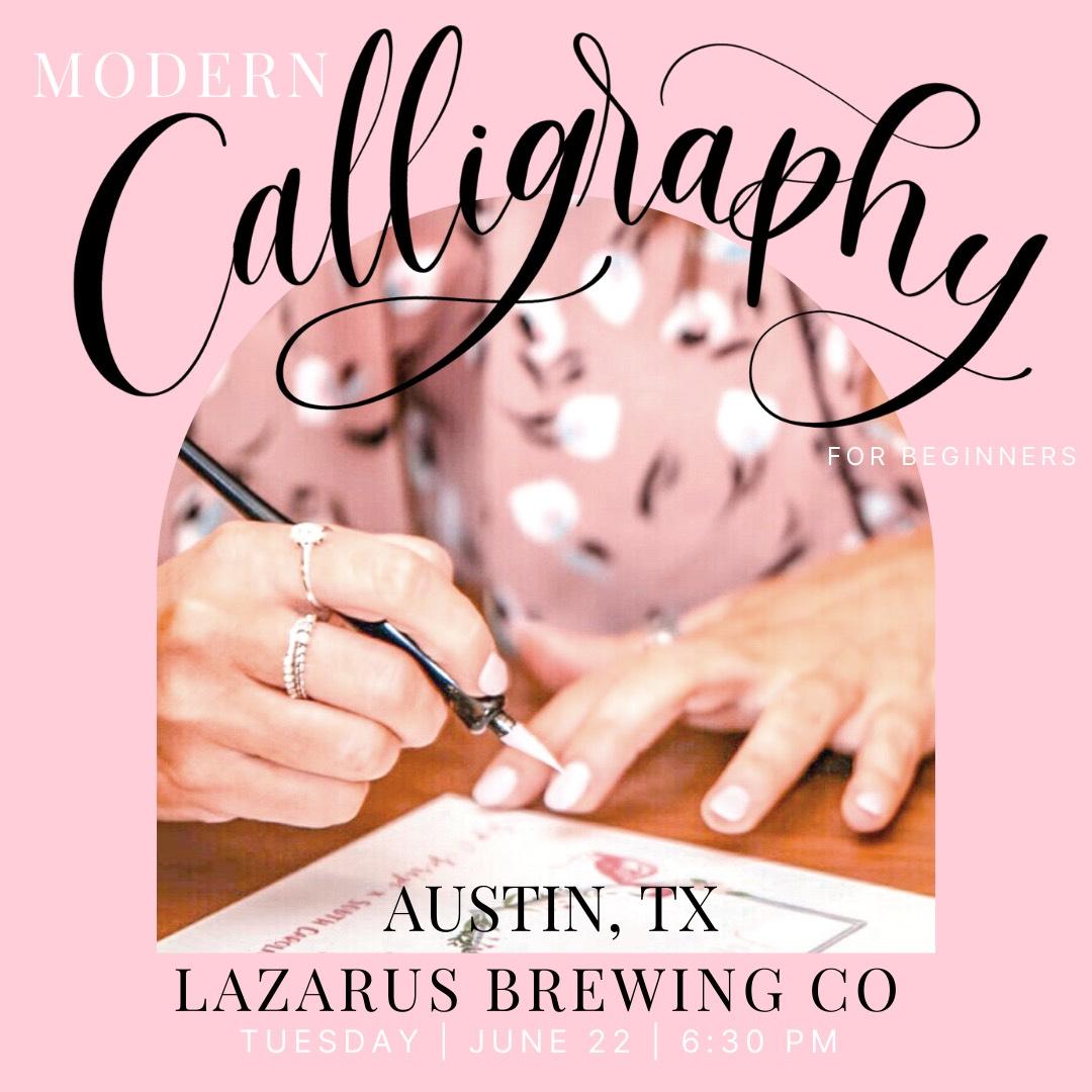 Austin calligraphy classes